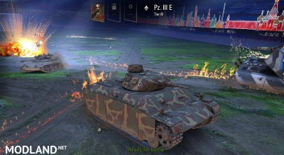 PZ III E with PZ III/IV hull, chassis and tracks Remodel 1 [1.0.2.2]